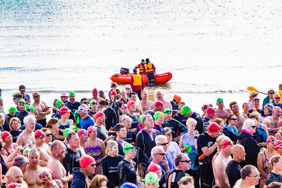 Seahorse Swim pre race briefing